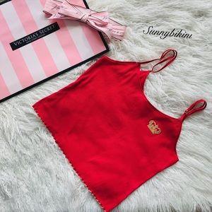 NWT Victoria's Secret Mini Knit Cropped Cami